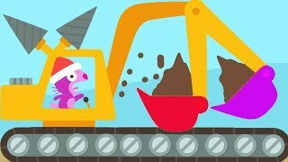 Sago Mini Trucks amp; Diggers Kids Games  Play Fun Sago Kids Building Sweet Home  Sago Mini World