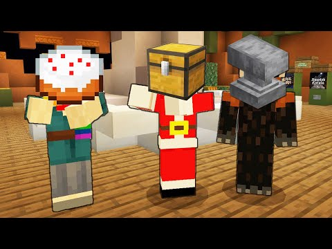MINECRAFT HIDE AND SEEK cu NOCIV, COSTIN si BRUNETICA!