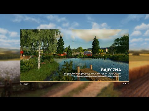 FS19 Bajeczna Map Fly Thru