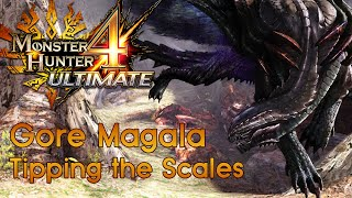 [MH4U] Monster Hunter 4 Ultimate - Low Rank Urgent Quest - Tipping the Scales - Gore Magala