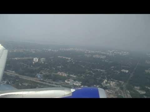 Go Air flight taking off