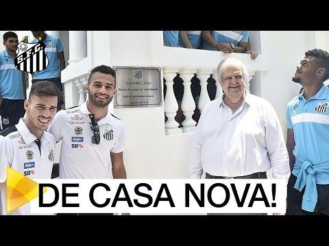 Santos FC inaugura Casa Meninos da Vila