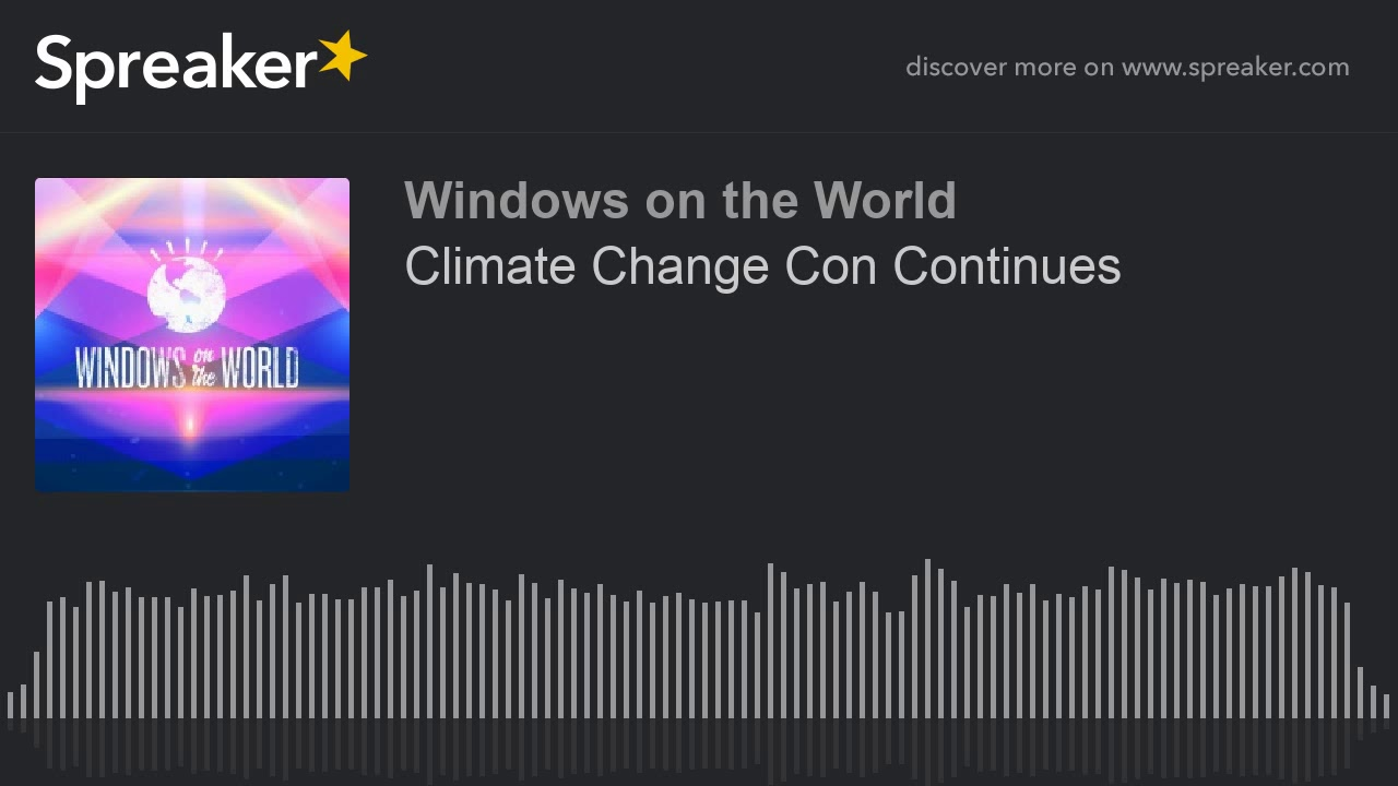 Climate Change Con Artists thumbnail
