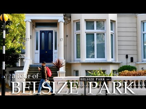 Tour of Belsize Park, London, NW3