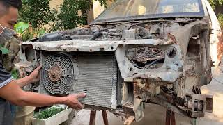 Restoration DAEWOO Car very rusty after 27 Years | Restore tear down old engine Car 1993s