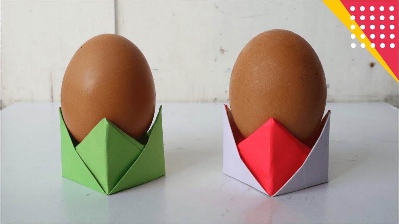 Cara Membuat Wadah Telur Dari Kertas Origami Lucu Befmanfaat