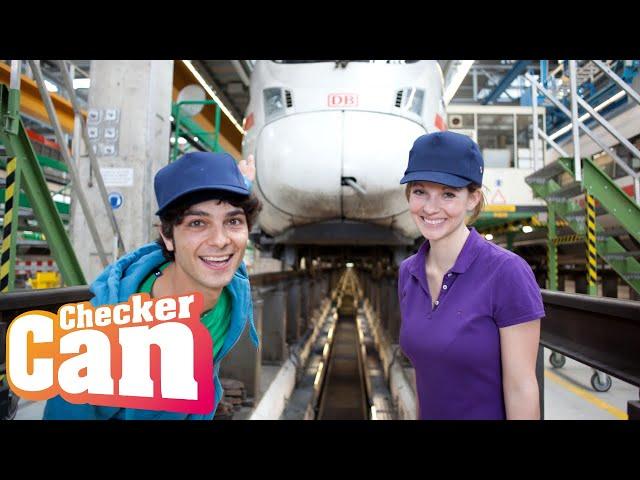 Der Zug Check | Reportage für Kinder | Checker Can