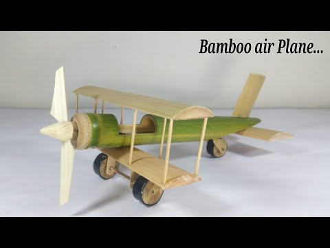 Home make Air Plan using simple Bamboo