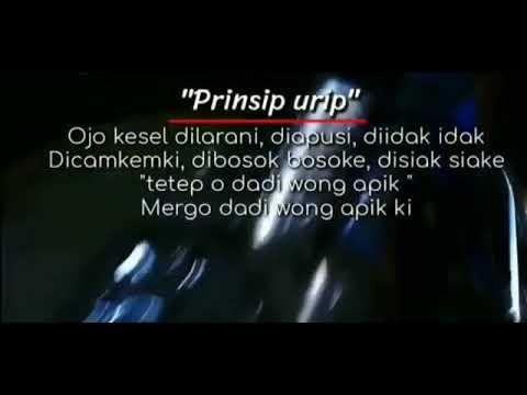 Kata Kata Mutiara Prinsip Hidup Youtube