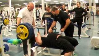 Alex Moonen 200kg RAW Benchpress