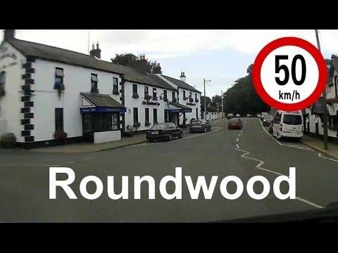 Dash Cam Ireland  - Roundwood to Kilmacanogue in 3 and a half Minutes