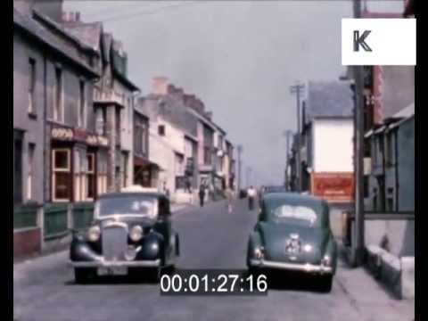 Mid 1950s home movies Borth, Wales - rural village