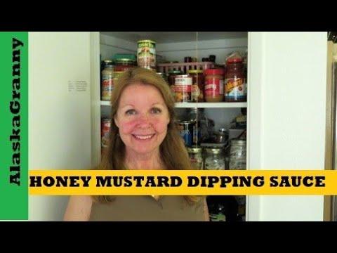 Honey Mustard Dipping Sauce Easy Recipe