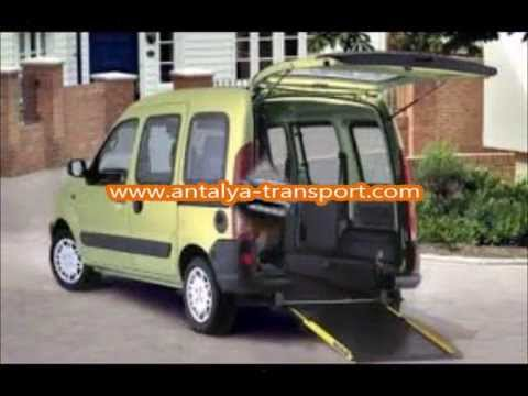 3eeb67d47c Antalya Wheelchair Access Taxis Transport - YouTube