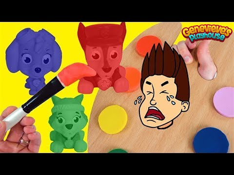 Thumbnail: Best Paw Patrol Learning Video for Toddlers Wrong Colors PlayDoh Painting Pups for Kids!