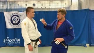 Дзюдо. Передняя подножка. Тай Отоси. Judo. Tai Otoshi.