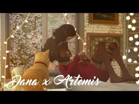 Dana x Artemis | Best Friend Sim Challenge | Sims 4 Machinima