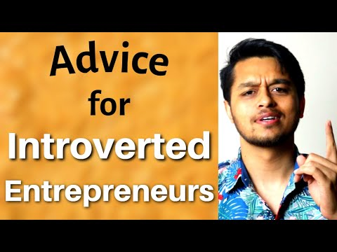 #1 Advice for Introverted Entrepreneurs: Networking and Entrepreneurship for Introverts
