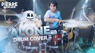 Marshmello Alone Pierre Maskaro - 9 anos Drum Cover.mp3