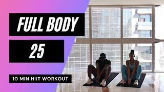 No. 51 | Full Body Workout with Beginner and Low Impact Modifications