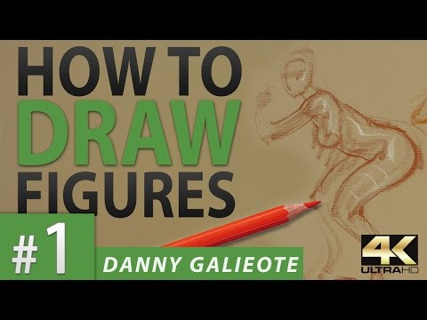 Timed Model Drawing Session 1 // Instructor: Danny Galieote