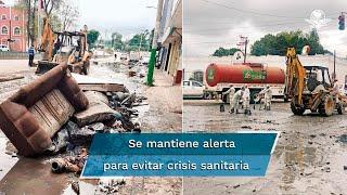 La Secretaría de Salud en Hidalgo dio a conocer que se detectaron tres posibles casos de cólera en Tula, luego de la inundación en ese lugar