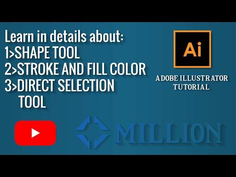 Adobe Illustrator tutorial:Basic skills that you must have as a beginner.(2019) thumbnail