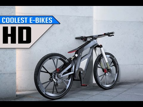 TOP 5 RADICAL E-BIKES AVAILABLE NOW | 2017 | Must watch
