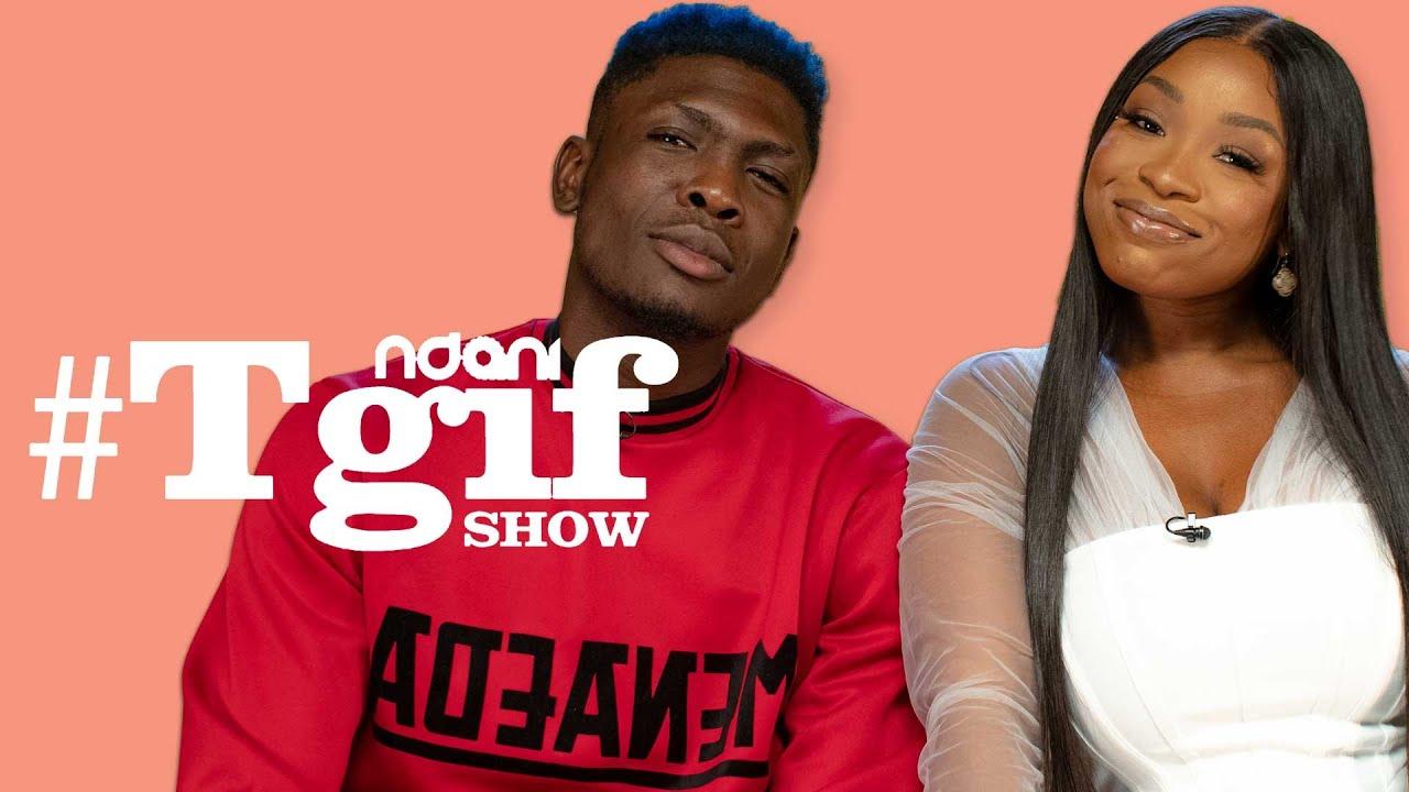 Download BBNaija's Jackie B & Sammie on the NdaniTGIFShow