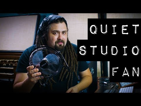 The Perfect Quiet Fan for the Recording Studio