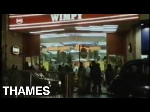 London's West end  Piccadilly circus  Leicester Square  TV Eye  1983