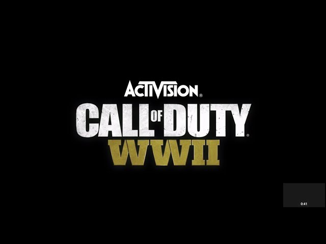CoD WW2. Video of end of campaign.