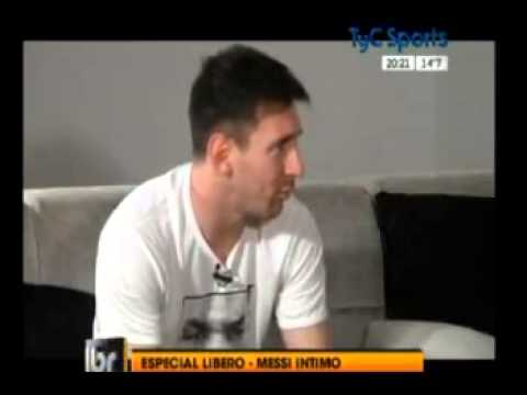 Entrevista A Leo Messi Para TyC-sports