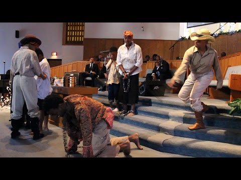 Glorious Hope Youth Performs Black History Skit