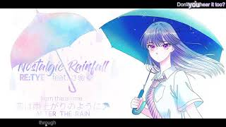 34 Nostalgic Rainfall 34 English After The Rain Op Feat さ く
