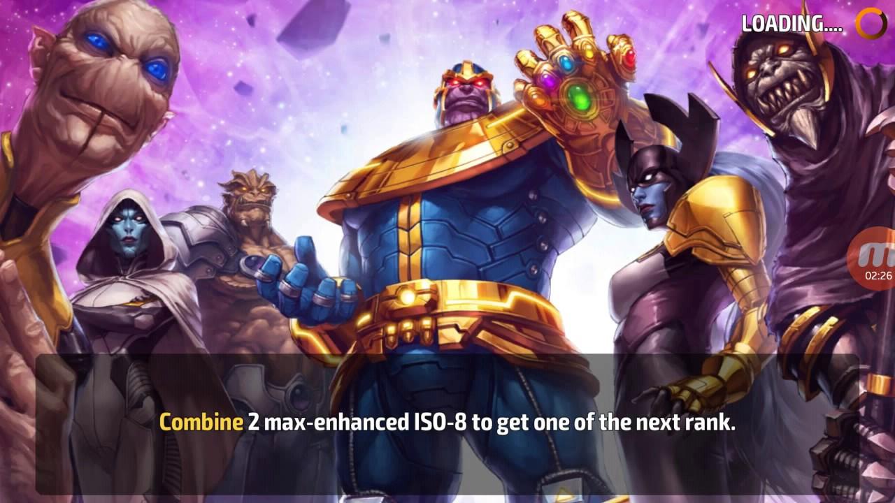 Marvel Future Fight Shadowland Floor 6 Floki Solo