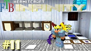 Minecraft Mods - FTB Infinity Ep. 11 - AE2 In Style !!! ( HermitCraft Modded Minecraft )
