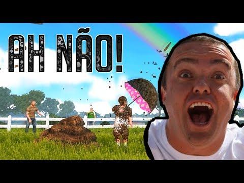 AH NÃO! Deu MERDA! - Jackass the Game!