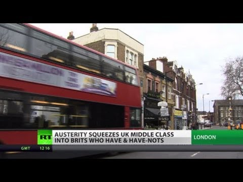 Class Divide: UK masses slide into poverty as austerity ramps up