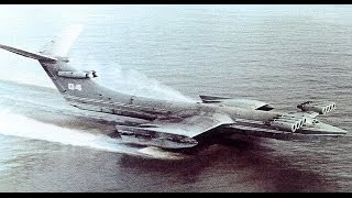 Caspian Sea Monster KM Ekranoplan [HD]-2014