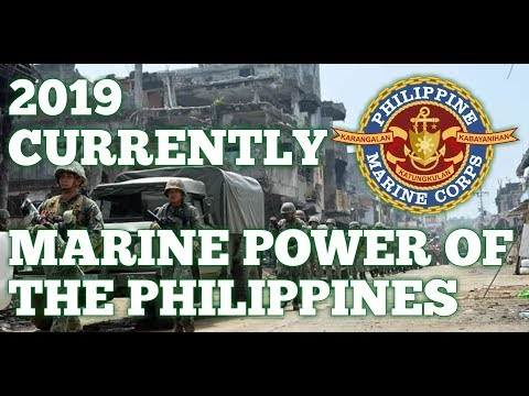 2019 CURRENTLY MARINE POWER OF THE PHILIPPINES