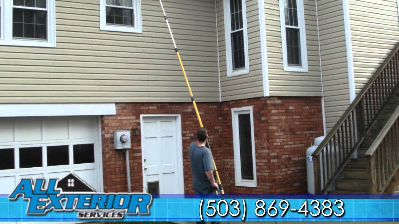 Pressure Washing Portland, OR | All Exterior Services