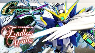 Gundam Wing Endless Waltz Stage 1 Gameplay - SD Gundam G Generation Cross Rays