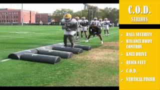 Running Back Skills and Drills