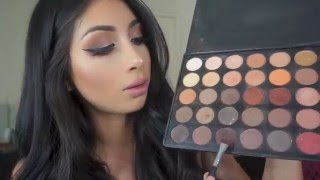 Neutral Eyes & Lip Tutorial (Morphe 35O Palette)