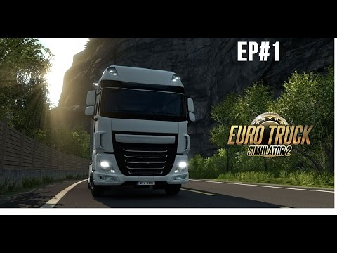 Euro Truck Simulator 2 Ep 1-My first journey(Munchen-Stuttgart)