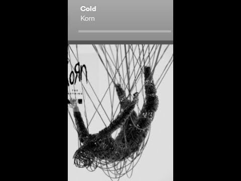 "Korn release new song ""Cold"" off new album ""The Nothing"" ..!"