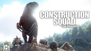 CONSTRUCTION TEAM - Primal Fear! ARK: survival evolved Se14ep3 - Build New base