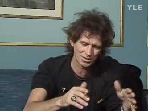 Keith Richards interview in 1988