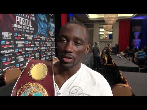 World's worst Terence Crawford interview about fight with Viktor Postol